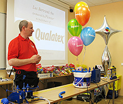 Luc Bertrand, Qualatex Approved Instructor